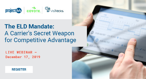 ELD Mandate Webinar: A Carrier's Secret Weapon for Competitive Advantage