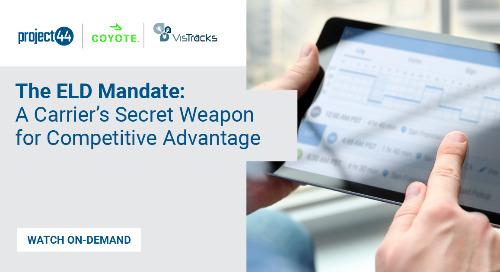 ELD Mandate Webinar: A Carrier's Secret Weapon for Competitive Advantage