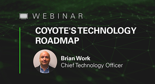 WATCH NOW: APIs, Advanced Truck Matching & Facility Reviews — Coyote CTO Talks Tech