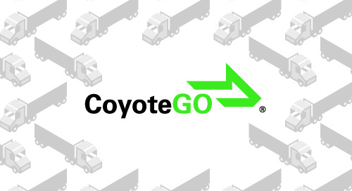CoyoteGO® Digital Freight Platform Expands to Better Connect Shippers & Carriers On Demand Across Devices