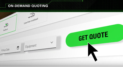 VIDEO: Get Instant Freight Quoting & On-Demand Shipping