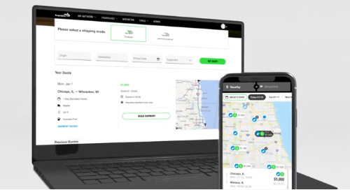 VIDEO: On-Demand Freight Quoting & Shipping with CoyoteGO