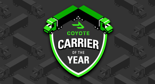 Congratulations to the 2019 Carriers of the Year