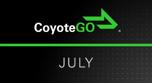 July Release Notes: What's New for North American Shippers and Carriers in CoyoteGO