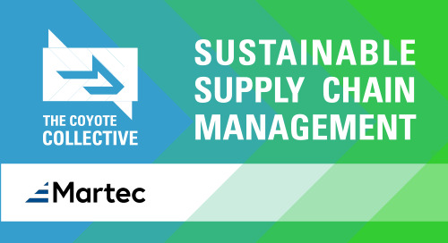 New Study Reveals 81% of Companies More Focused Today on Sustainability than 3 Years Ago, with Supply Chains Playing an Integral Role