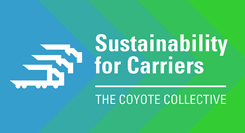 3 Reasons Carriers Can't Afford to Ignore Supply Chain Sustainability