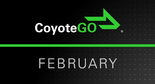 February Release Notes: What's New for North American Carriers in CoyoteGO