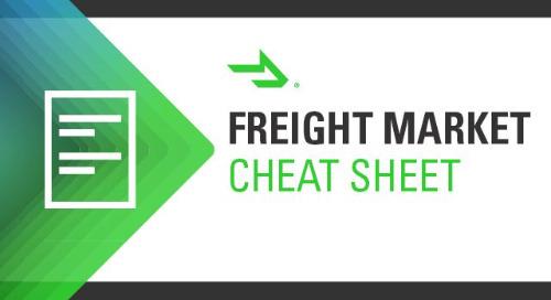 Freight Market Cheat Sheet: 7 Shipping Trends for September 2021