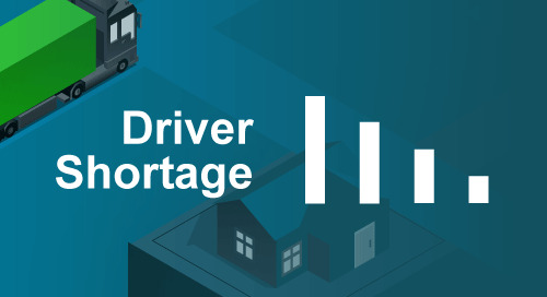 What's Driving the Truck Driver Shortage in 2021? Infographic of 6 Key Challenges