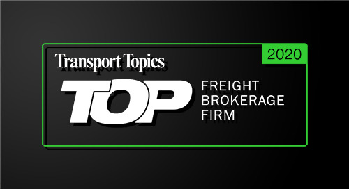 Coyote Takes Number Two Spot on Transport Topics' List of Top Freight Brokerages
