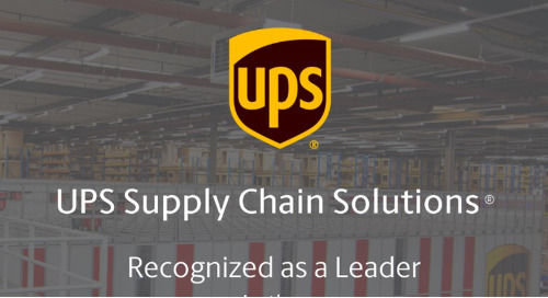 UPS SCS Named a Leader in 2021 Gartner Magic Quadrant for Third-Party Logistics, North America & Worldwide Reports
