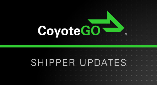 What's New in CoyoteGO: Requote Shipments, Track Without Logging In & More