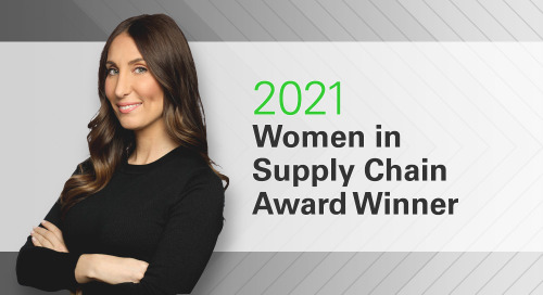 Coyote CMO Recognized with Women in Supply Chain Award