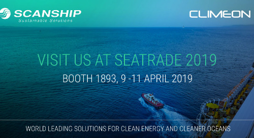 Why Scanship and Climeon are co-exhibiting at this year's Seatrade Cruise Global