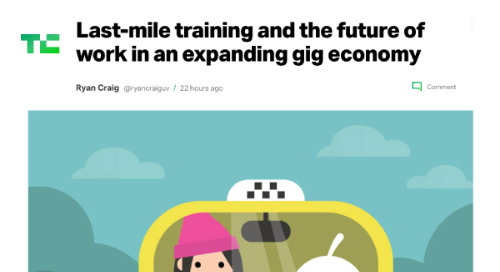 Last-mile training and the future of work in an expanding gig economy