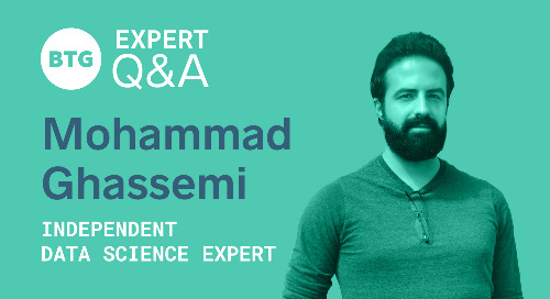 Using Data Science to Drive Value: A Q&A With Mohammad Ghassemi