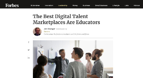 The Best Digital Talent Marketplaces Are Educators