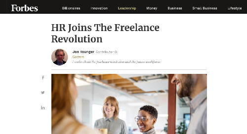 HR Joins The Freelance Revolution