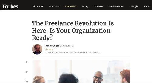 The Freelance Revolution Is Here: Is Your Organization Ready?
