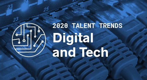 Trends by Function: Digital and Tech