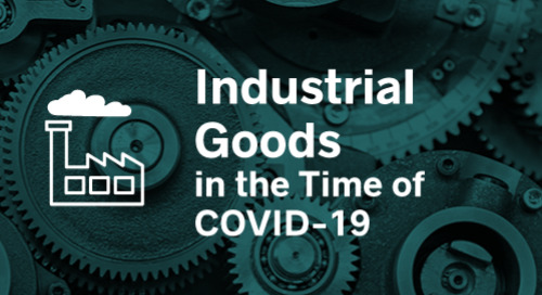 Industrial Goods in the Time of COVID-19