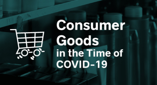 Consumer Goods in the Time of COVID-19