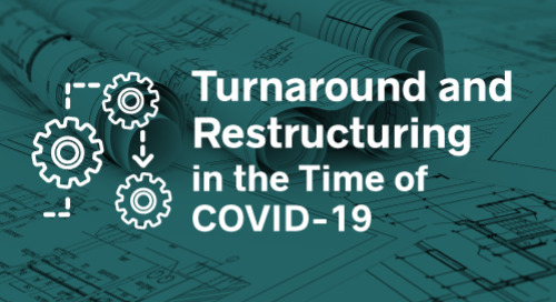Turnaround and Restructuring in the time of COVID-19