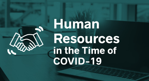 Human Resources in the Time of COVID-19