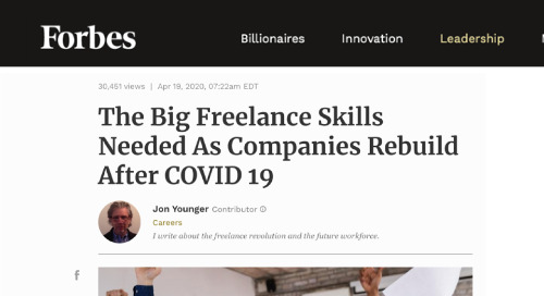 The Big Freelance Skills Needed As Companies Rebuild After COVID-19