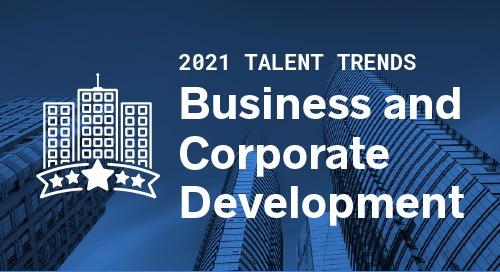 Trends by Function: Business and Corporate Development