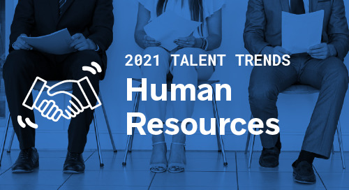 Trends by Function: Human Resources