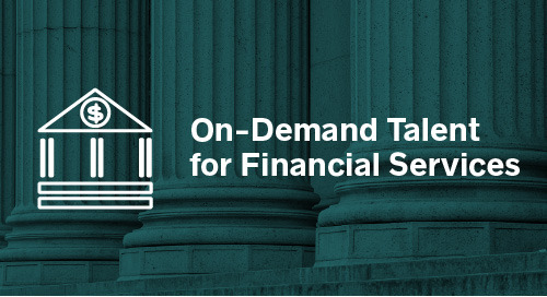 On-Demand Talent for Financial Services