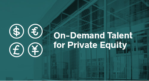 On-Demand Talent for Private Equity