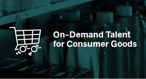 On-Demand Talent for Consumer Goods