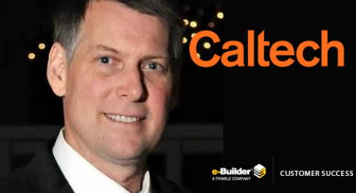 Caltech Leverages e-Builder for Capital Project Delivery