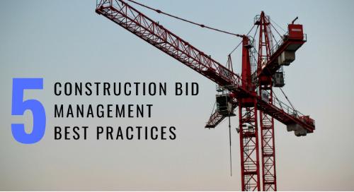 5 Construction Bid Management Best Practices