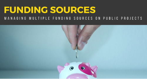 Funding Sources: Managing Multiple Funding Sources on Public Projects