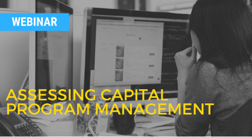 e-Builder: Assessing Capital Program Management