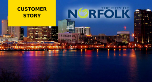 City of Norfolk Department of Public Works Cloud-Based Processes Streamline Multi-Million Dollar Capital Program