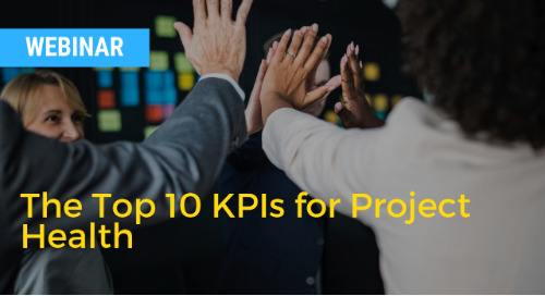 The Top 10 KPIs for Project Health with Ohio Health