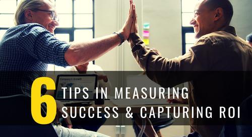 6 Tips Measuring Success ROI