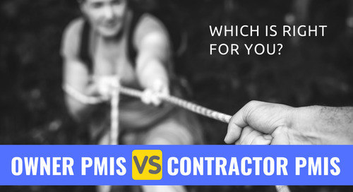 Owner vs Contractor PMIS