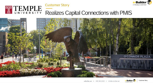 Temple University Realizes Capital Connections with PMIS