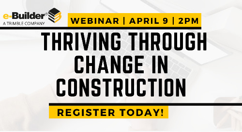 Navigating the New Normal: Thriving through change in the Construction Industry