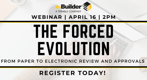 Navigating the New Normal: The Forced Evolution from Paper to Electronic Review and Approvals