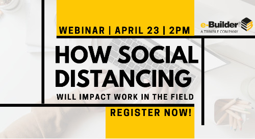 Navigating the New Normal: How social distancing will impact work in the field