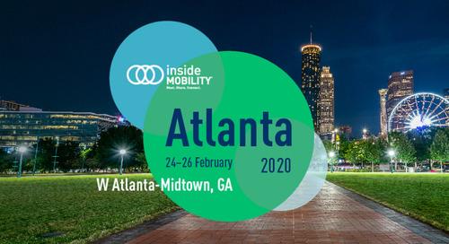 SAVE THE DATE: insideMOBILITY® Atlanta 2020