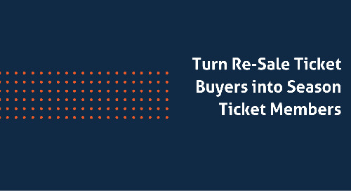 Turn Re-Sale Ticket Buyers into Season Ticket Members