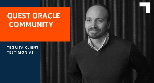 Tegrita Testimonial: Quest Oracle Community