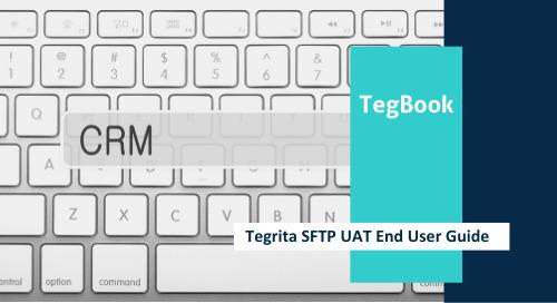 Tegrita SFTP UAT End User Guide